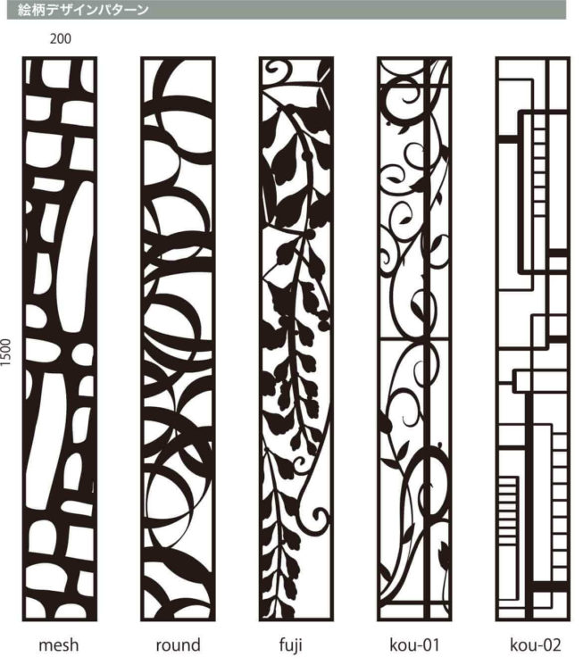 絵柄デザインパターン